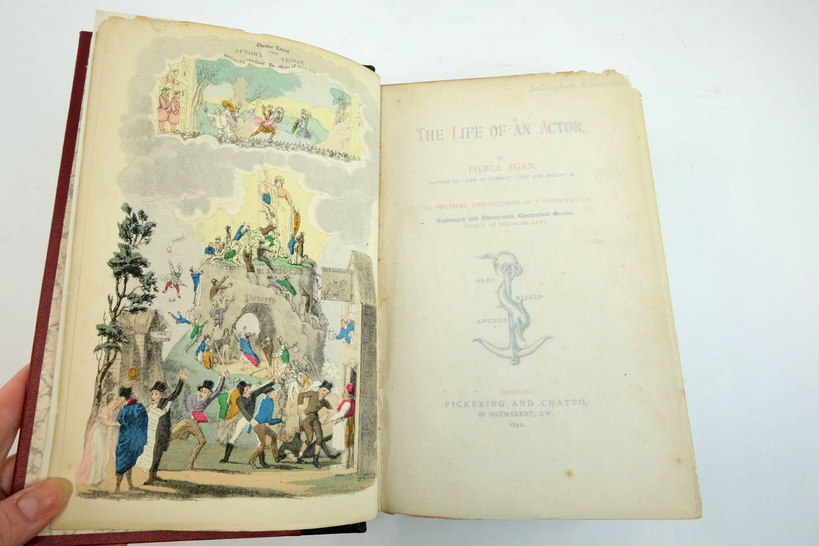 Photo of THE LIFE OF AN ACTOR written by Egan, Pierce