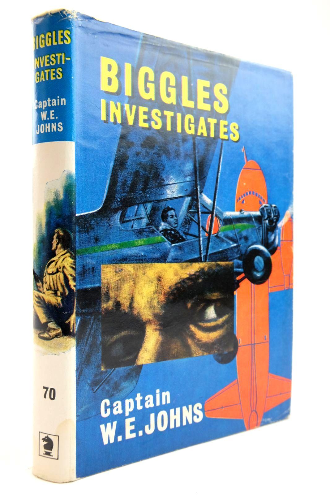Photo of BIGGLES INVESTIGATES- Stock Number: 2134082