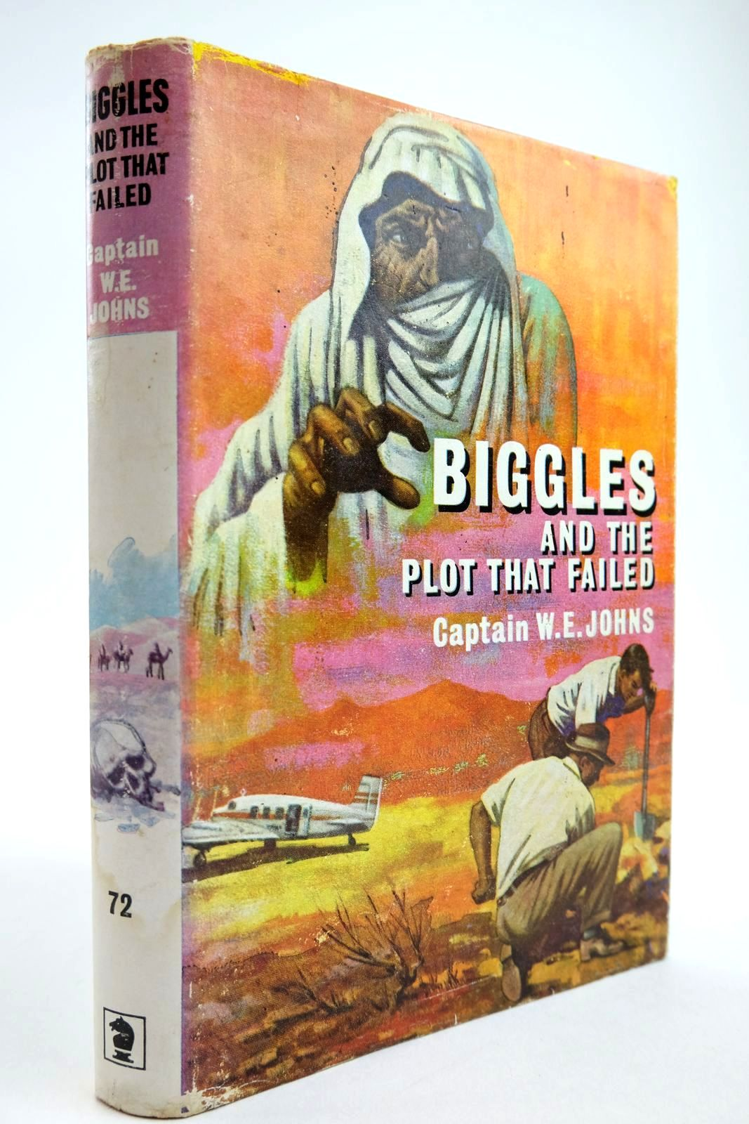 Photo of BIGGLES AND THE PLOT THAT FAILED- Stock Number: 2134087
