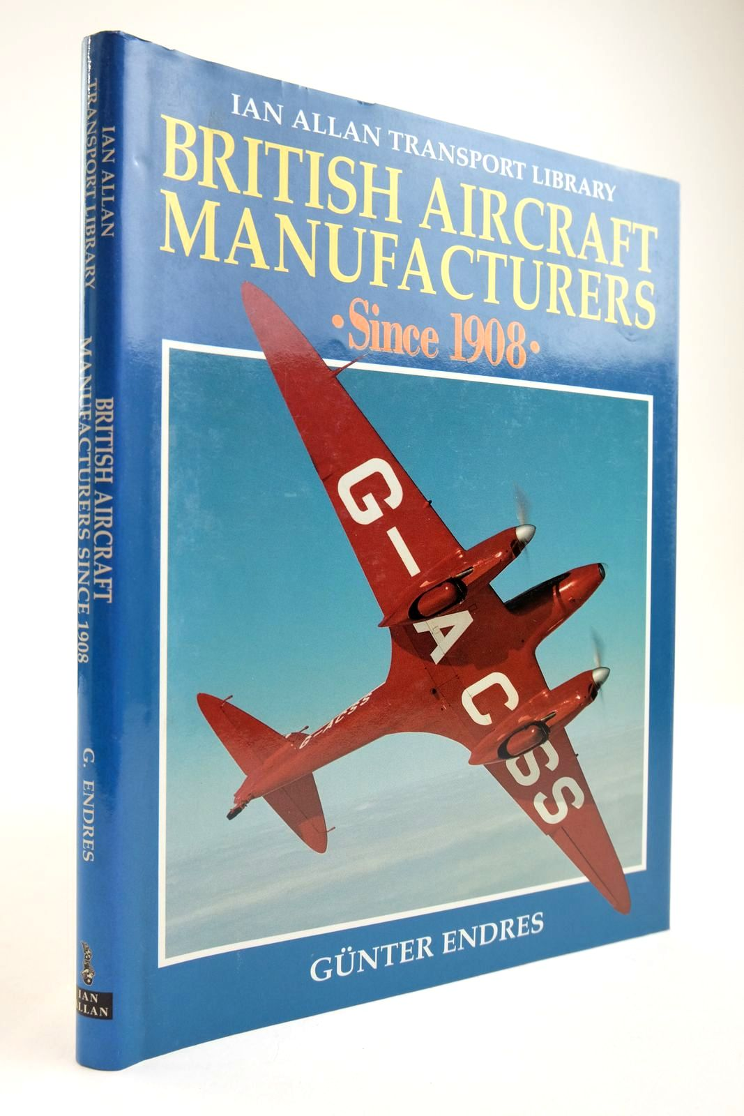 Photo of BRITISH AIRCRAFT MANUFACTURERS SINCE 1908- Stock Number: 2134095