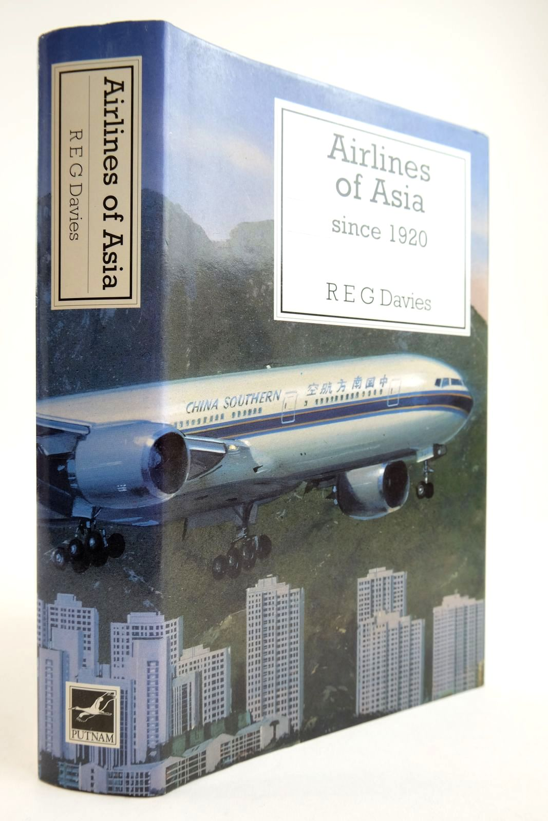 Photo of AIRLINES OF ASIA SINCE 1920 written by Davies, R.E.G. published by Putnam Aeronautical Books (STOCK CODE: 2134098)  for sale by Stella & Rose's Books
