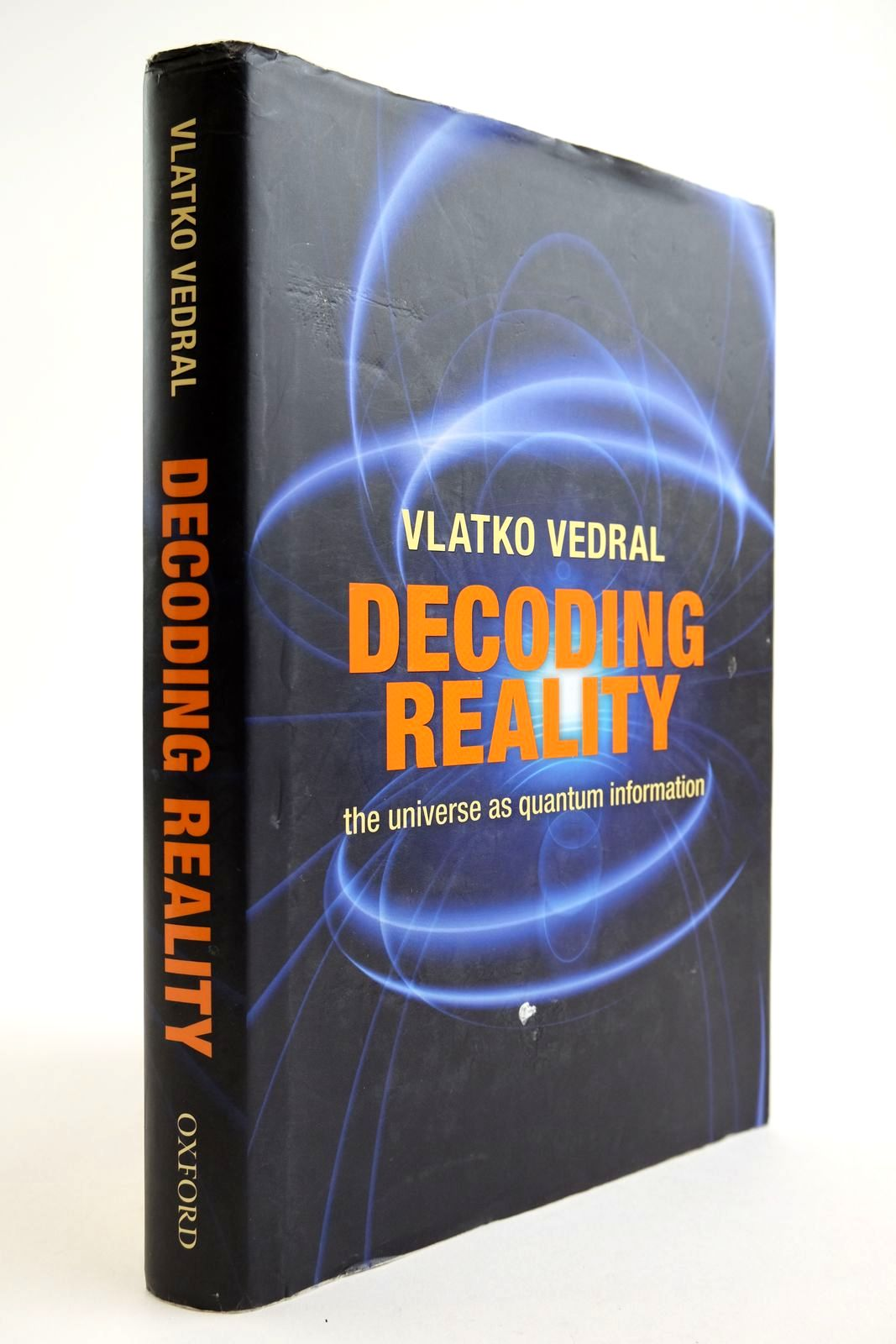 Photo of DECODING REALITY: THE UNIVERSE AS QUANTUM INFORMATION- Stock Number: 2134101