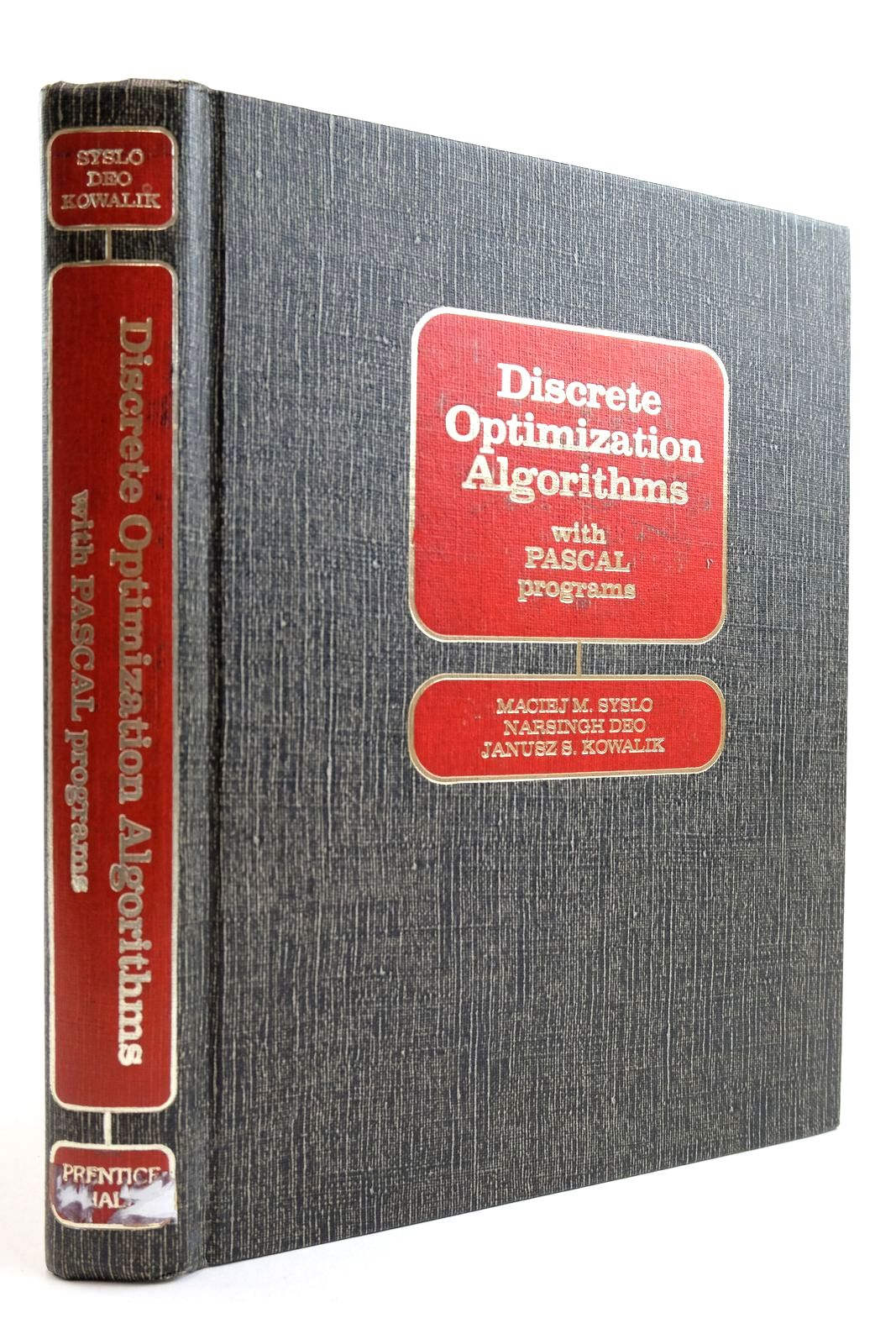 Photo of DISCRETE OPTIMIZATION ALGORITHMS WITH PASCAL PROGRAMS written by Syslo, Maciej M. Deo, Narsingh Kowalik, Janusz S. published by Prentice-Hall Inc. (STOCK CODE: 2134108)  for sale by Stella & Rose's Books