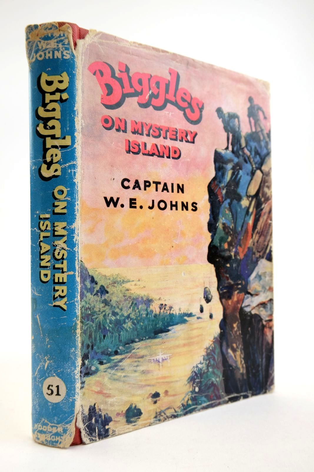 Photo of BIGGLES ON MYSTERY ISLAND written by Johns, W.E. illustrated by Stead,  published by Hodder & Stoughton (STOCK CODE: 2134114)  for sale by Stella & Rose's Books