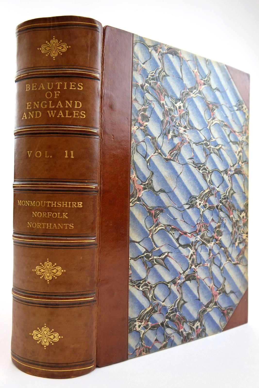 Photo of THE BEAUTIES OF ENGLAND AND WALES VOL. XI: MONMOUTHSHIRE, NORFOLK, NORTHANTS written by Britton, John Evans, J. published by Vernor, Hood & Sharpe, Longman, Hurst, Rees And Orme, J. Cuthell, J. Harris, B. Crosby & Co., J.M. Richardson (STOCK CODE: 2134132)  for sale by Stella & Rose's Books