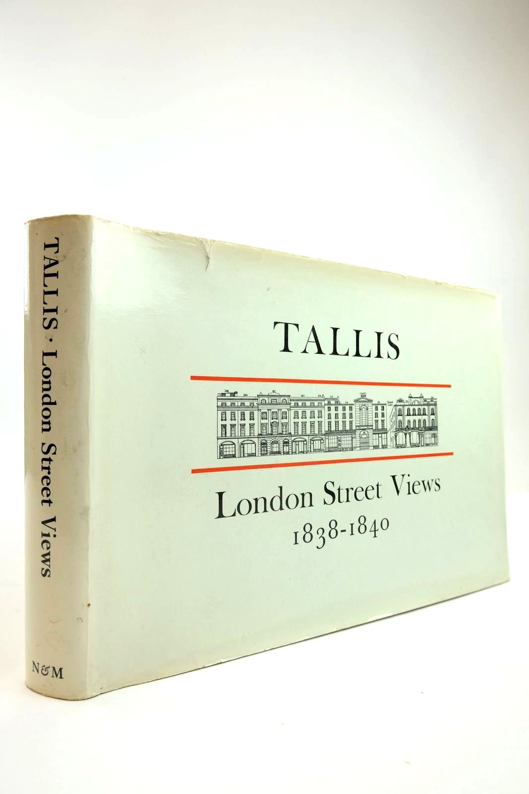Photo of JOHN TALLIS'S LONDON STREET VIEWS 1838-1840 written by Jackson, Peter illustrated by Tallis, John published by Nattali & Maurice (STOCK CODE: 2134141)  for sale by Stella & Rose's Books