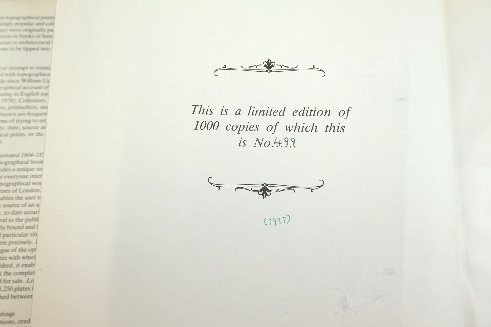 Photo of LONDON ILLUSTRATED 1604 - 1851: A SURVEY AND INDEX OF TOPOGRAPHICAL BOOKS AND THEIR PLATES written by Adams, Bernard published by The Library Association (STOCK CODE: 2134168)  for sale by Stella & Rose's Books