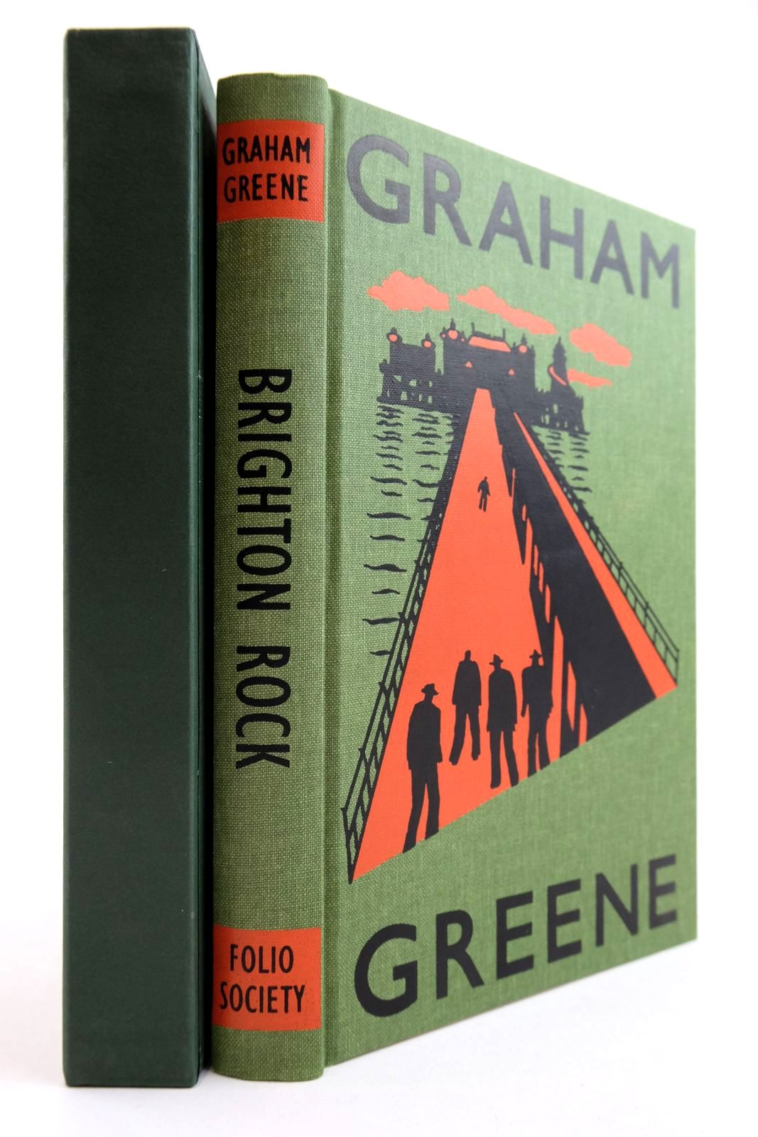 Photo of BRIGHTON ROCK written by Greene, Graham illustrated by Grandfield, Geoff published by Folio Society (STOCK CODE: 2134176)  for sale by Stella & Rose's Books