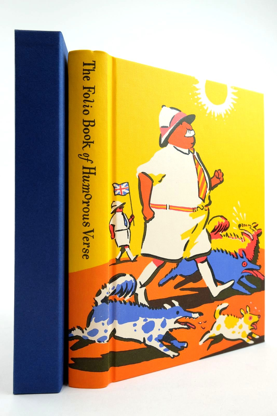 Photo of THE FOLIO BOOK OF HUMOROUS VERSE written by Leeson, Edward illustrated by Simmonds, Posy published by Folio Society (STOCK CODE: 2134177)  for sale by Stella & Rose's Books