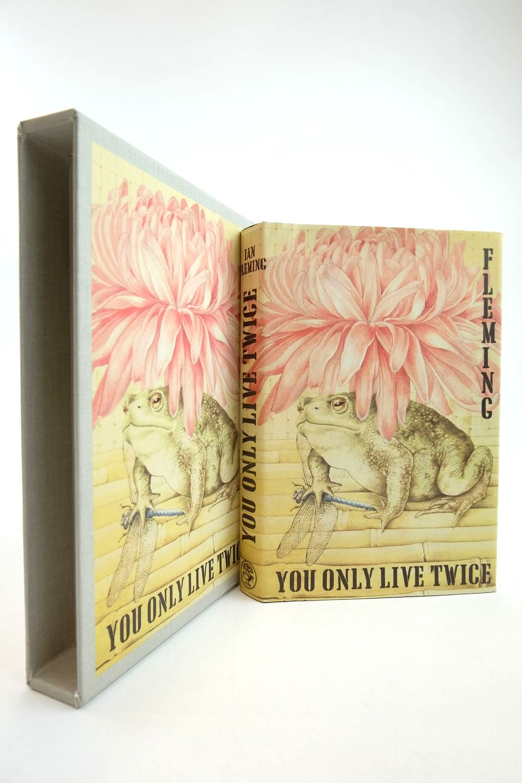 Photo of YOU ONLY LIVE TWICE written by Fleming, Ian published by The First Edition Library, Jonathan Cape (STOCK CODE: 2134200)  for sale by Stella & Rose's Books