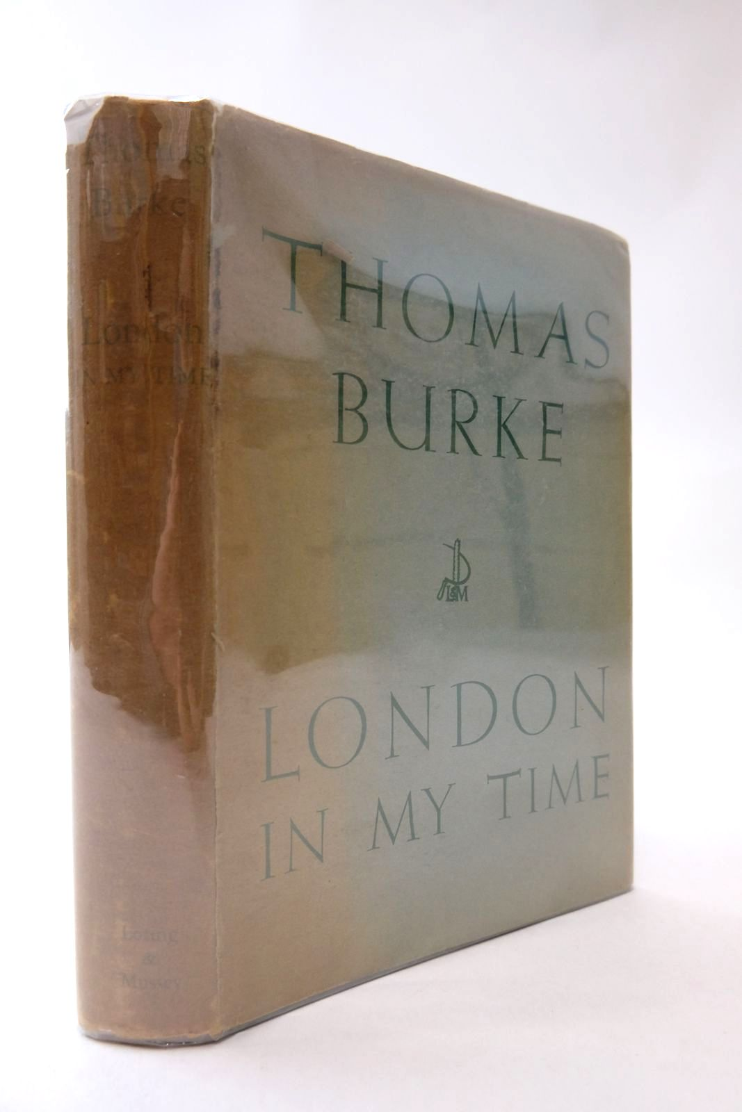 Photo of LONDON IN MY TIME written by Burke, Thomas published by Loring & Mussey (STOCK CODE: 2134216)  for sale by Stella & Rose's Books