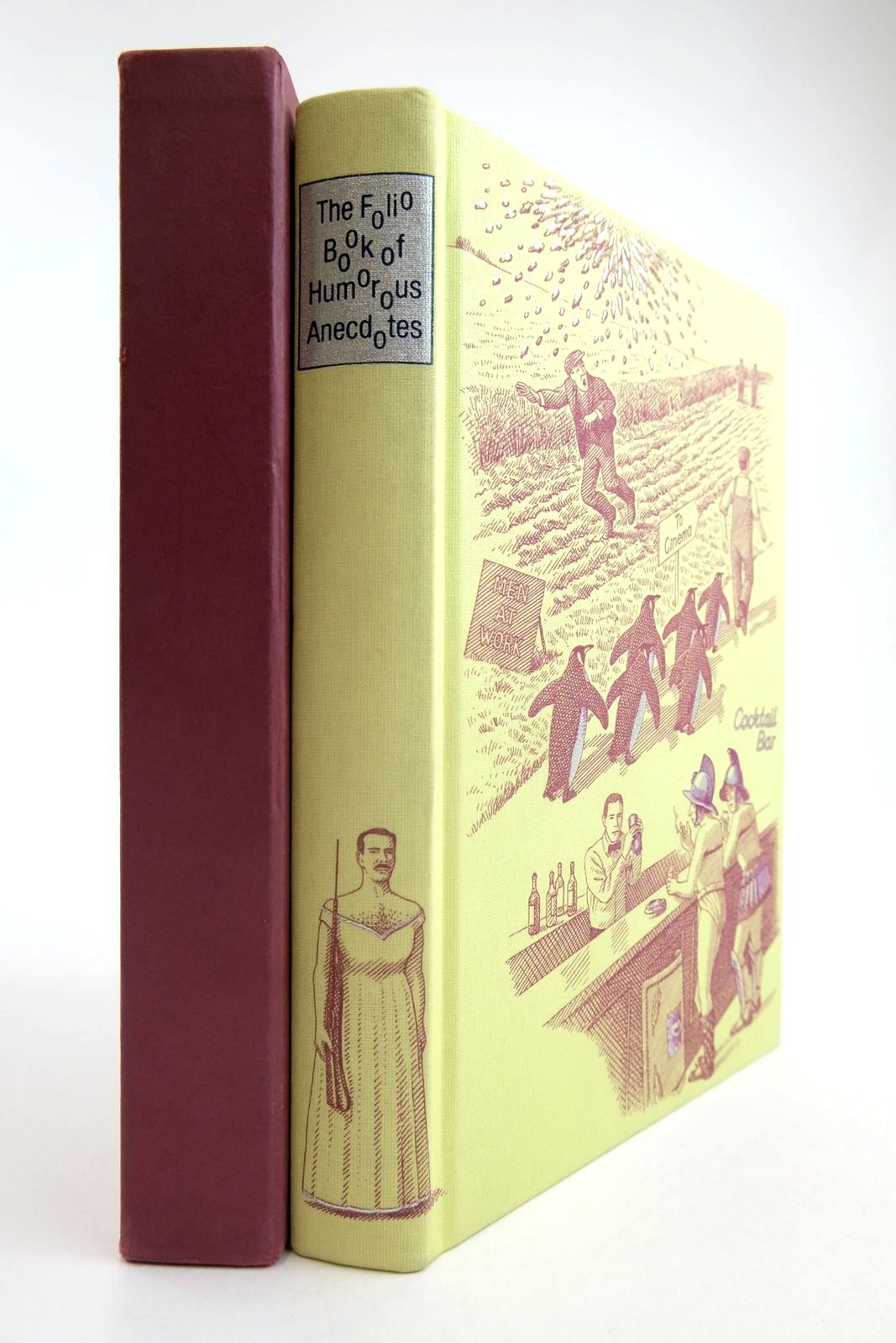 Photo of THE FOLIO BOOK OF HUMOROUS ANECDOTES written by Leeson, Edward illustrated by Hardcastle, Nick published by Folio Society (STOCK CODE: 2134230)  for sale by Stella & Rose's Books