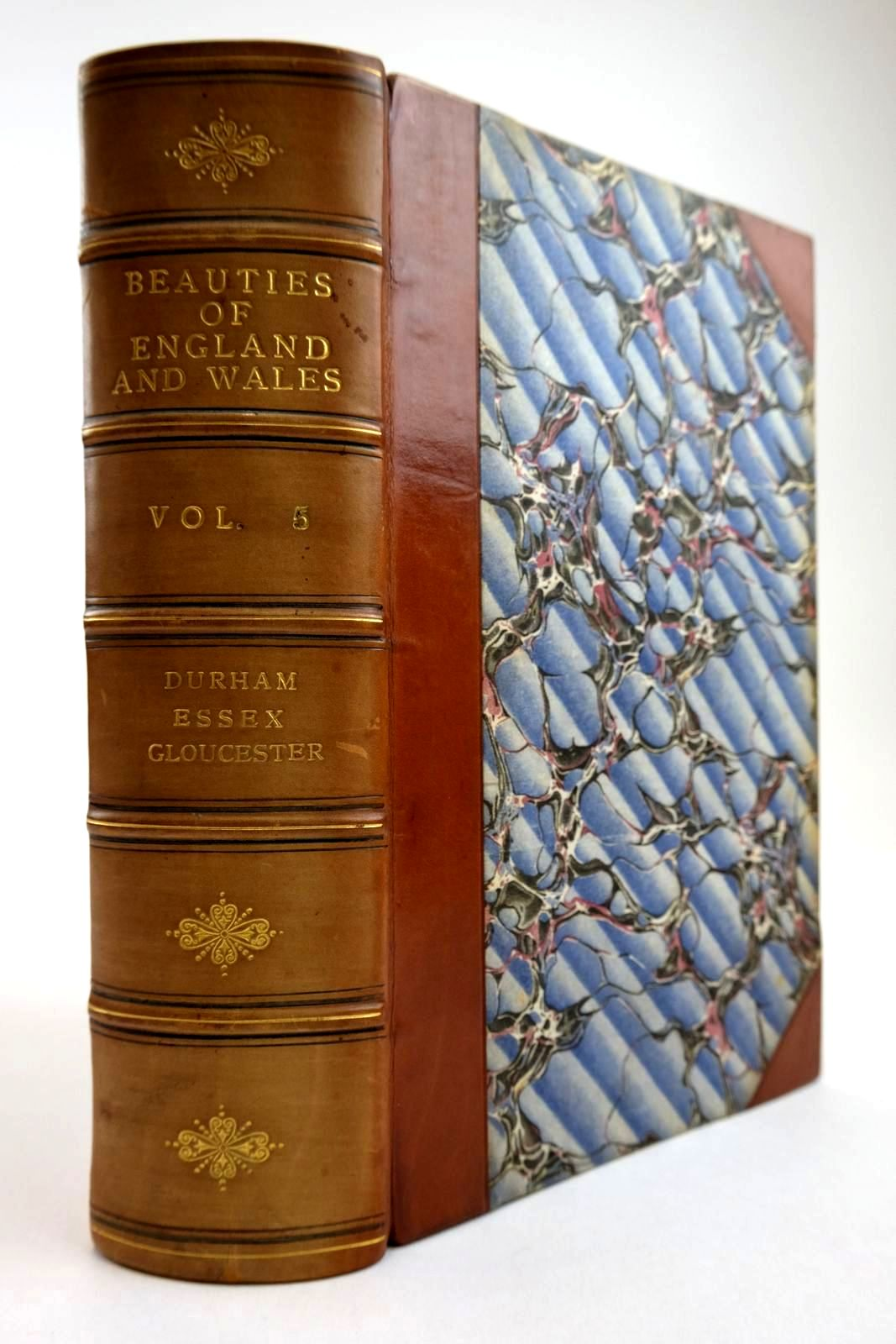 Photo of THE BEAUTIES OF ENGLAND AND WALES VOL V written by Britton, John Brayley, Edward Wedlake published by Vernor & Hood (STOCK CODE: 2134255)  for sale by Stella & Rose's Books