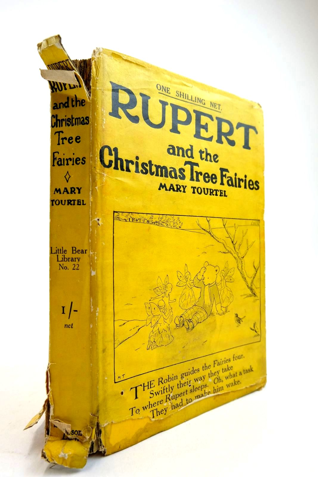 Photo of RUPERT AND THE CHRISTMAS TREE FAIRIES - RUPERT LITTLE BEAR LIBRARY No. 22- Stock Number: 2134258