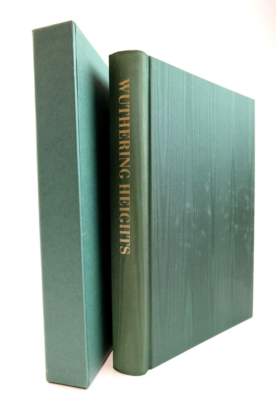 Photo of WUTHERING HEIGHTS written by Bronte, Emily illustrated by Forster, Peter published by Folio Society (STOCK CODE: 2134267)  for sale by Stella & Rose's Books