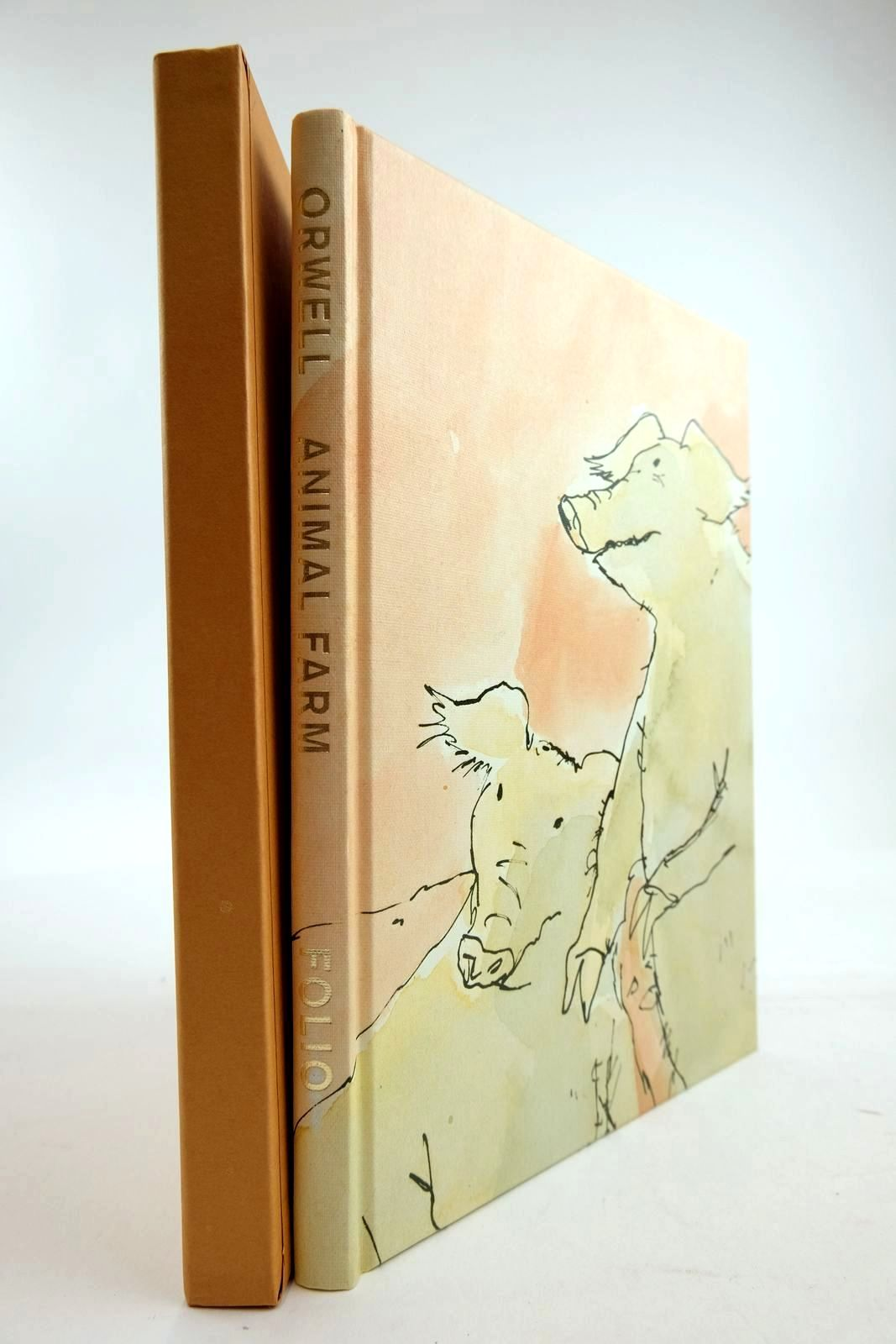 Photo of ANIMAL FARM written by Orwell, George illustrated by Blake, Quentin published by Folio Society (STOCK CODE: 2134269)  for sale by Stella & Rose's Books