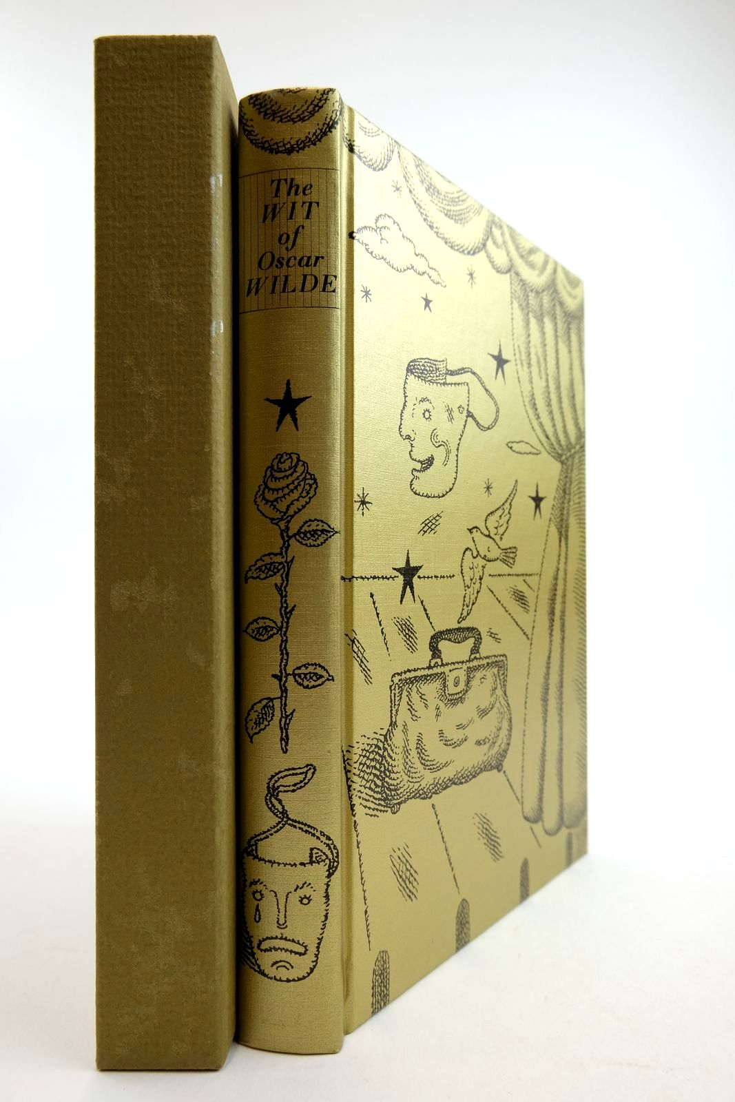 Photo of THE WIT OF OSCAR WILDE written by Wilde, Oscar illustrated by Beck, Ian Archie published by Folio Society (STOCK CODE: 2134271)  for sale by Stella & Rose's Books