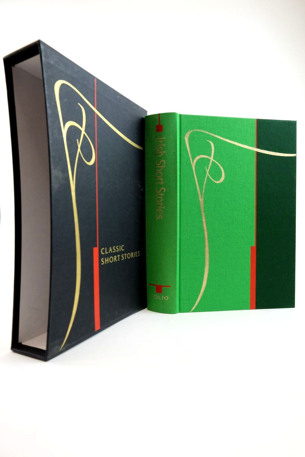 Photo of IRISH SHORT STORIES written by Delaney, Frank et al,  illustrated by Rooney, David published by Folio Society (STOCK CODE: 2134277)  for sale by Stella & Rose's Books