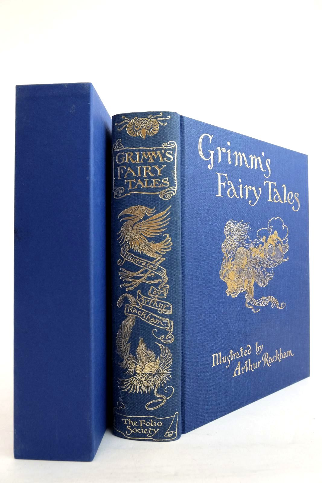 Photo of THE FAIRY TALES OF THE BROTHERS GRIMM written by Grimm, Brothers illustrated by Rackham, Arthur published by Folio Society (STOCK CODE: 2134280)  for sale by Stella & Rose's Books