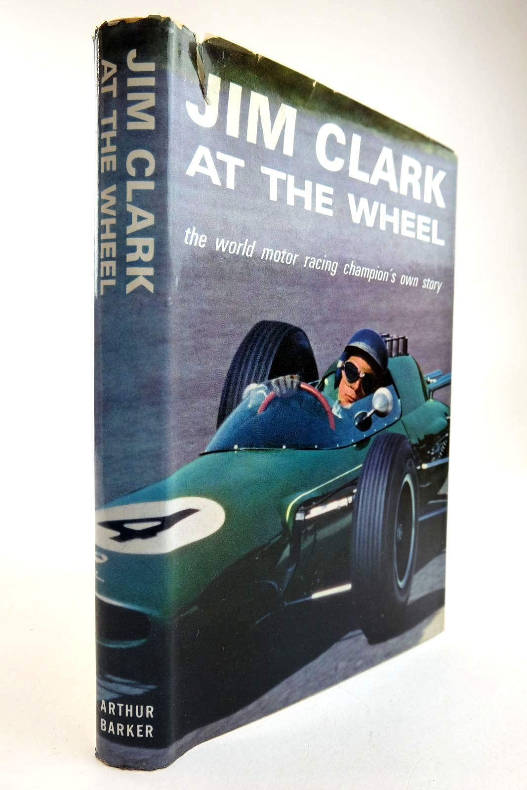 Photo of JIM CLARK AT THE WHEEL THE WORLD MOTOR RACING CHAMPION'S OWN STORY written by Clark, Jim published by Arthur Barker Limited (STOCK CODE: 2134313)  for sale by Stella & Rose's Books