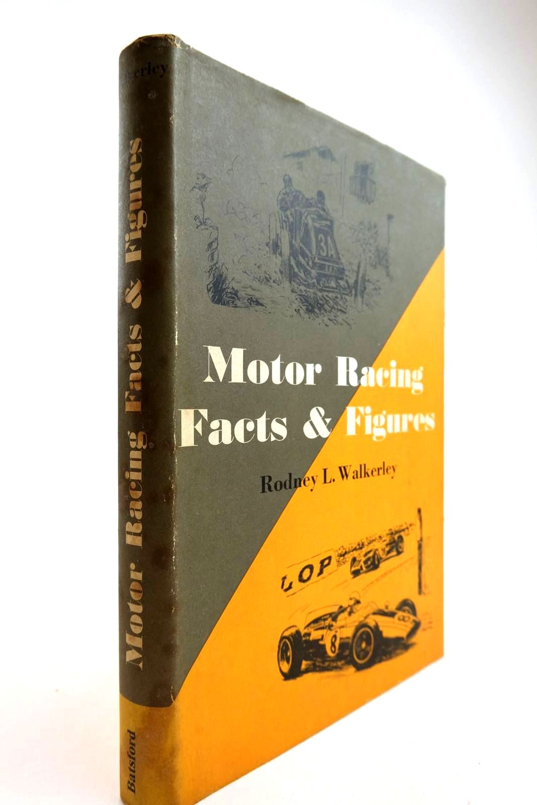 Photo of MOTOR RACING FACTS AND FIGURES- Stock Number: 2134314