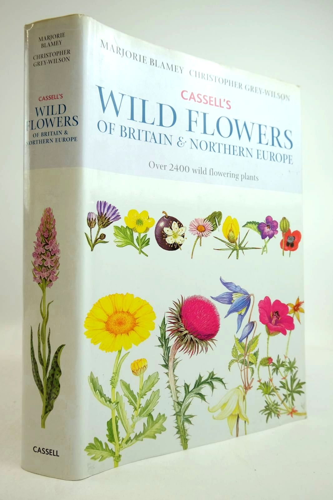 Photo of CASSELL'S WILD FLOWERS OF BRITAIN & NORTHERN EUROPE written by Grey-Wilson, Christopher illustrated by Blamey, Marjorie published by Cassell (STOCK CODE: 2134319)  for sale by Stella & Rose's Books