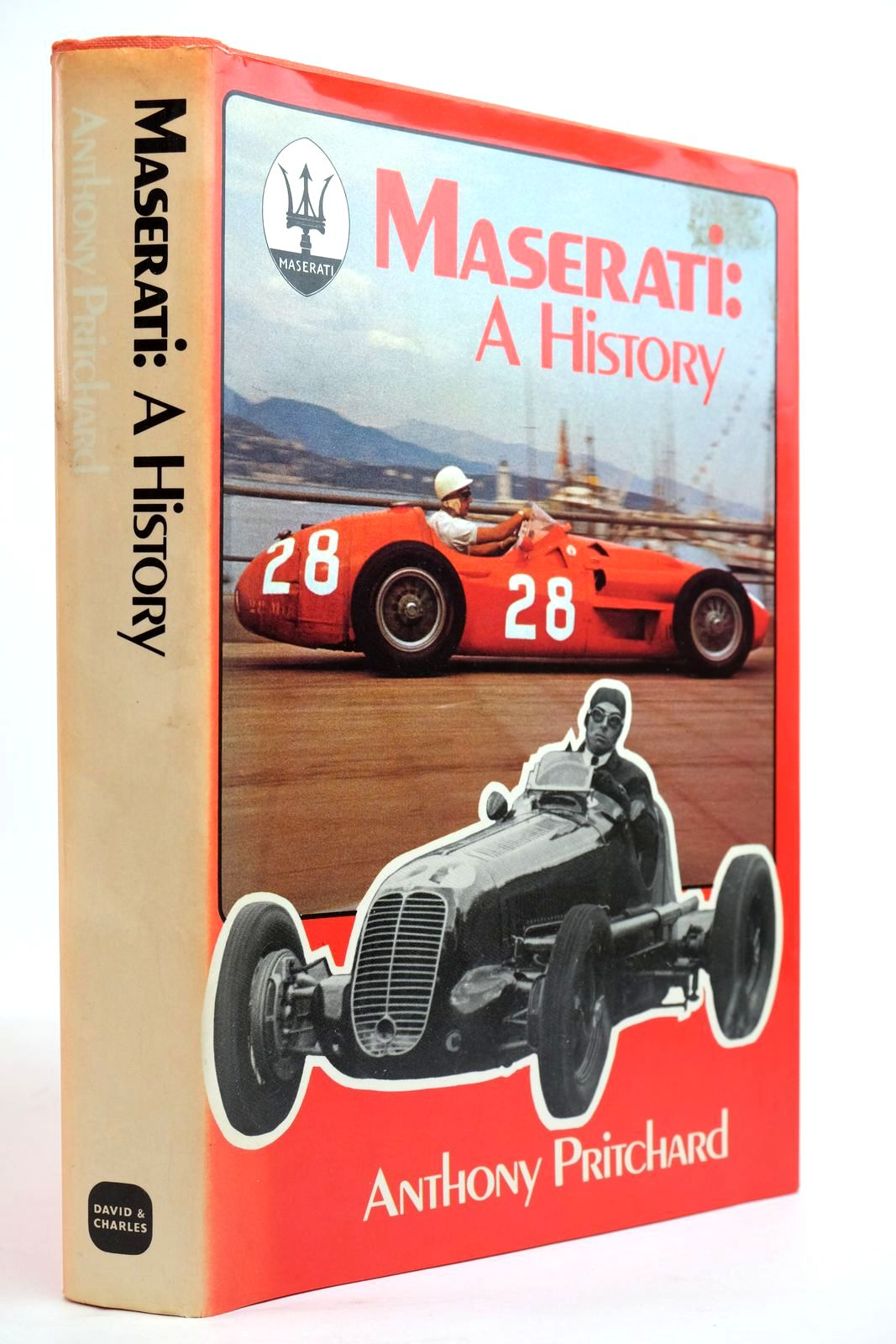 Photo of MASERATI: A HISTORY written by Pritchard, Anthony published by David & Charles (STOCK CODE: 2134351)  for sale by Stella & Rose's Books