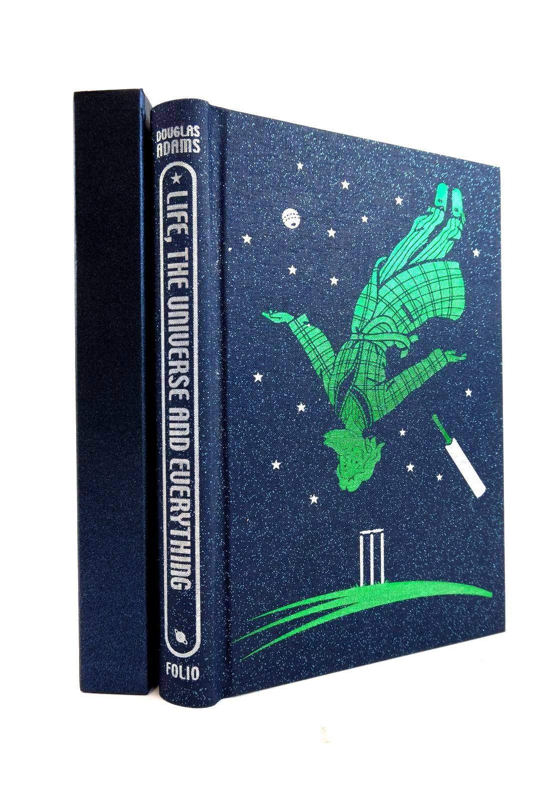 Photo of LIFE, THE UNIVERSE AND EVERYTHING written by Adams, Douglas Canter, Jon illustrated by Burton, Jonathan published by Folio Society (STOCK CODE: 2134388)  for sale by Stella & Rose's Books
