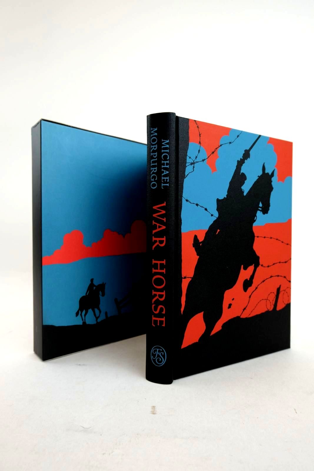 Photo of WAR HORSE written by Morpurgo, Michael illustrated by Marks, Alan published by Folio Society (STOCK CODE: 2134403)  for sale by Stella & Rose's Books