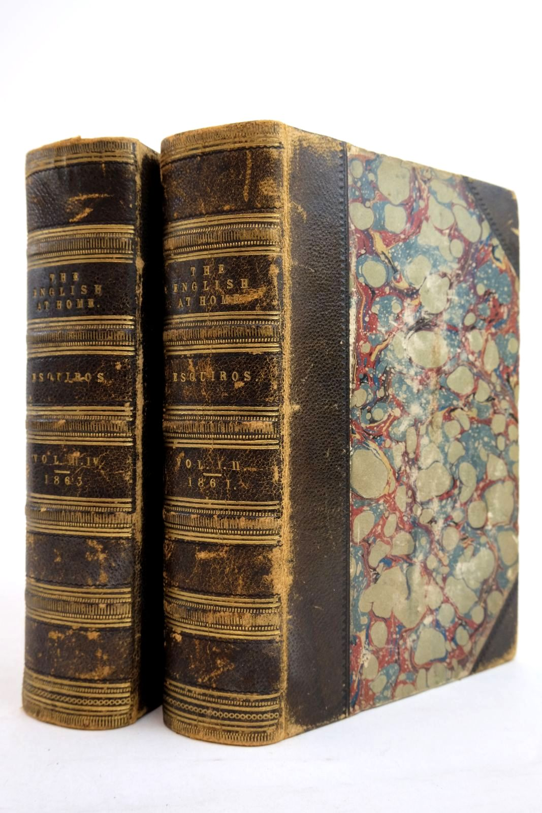 Photo of THE ENGLISH AT HOME (2 VOLUMES)- Stock Number: 2134436