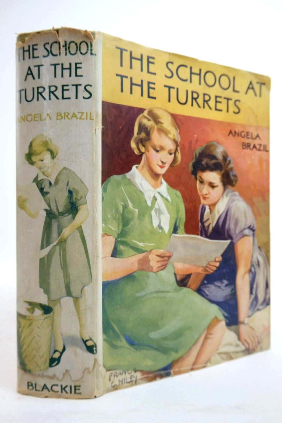 Photo of THE SCHOOL AT THE TURRETS written by Brazil, Angela illustrated by Hiley, Francis E. published by Blackie & Son Ltd. (STOCK CODE: 2134451)  for sale by Stella & Rose's Books