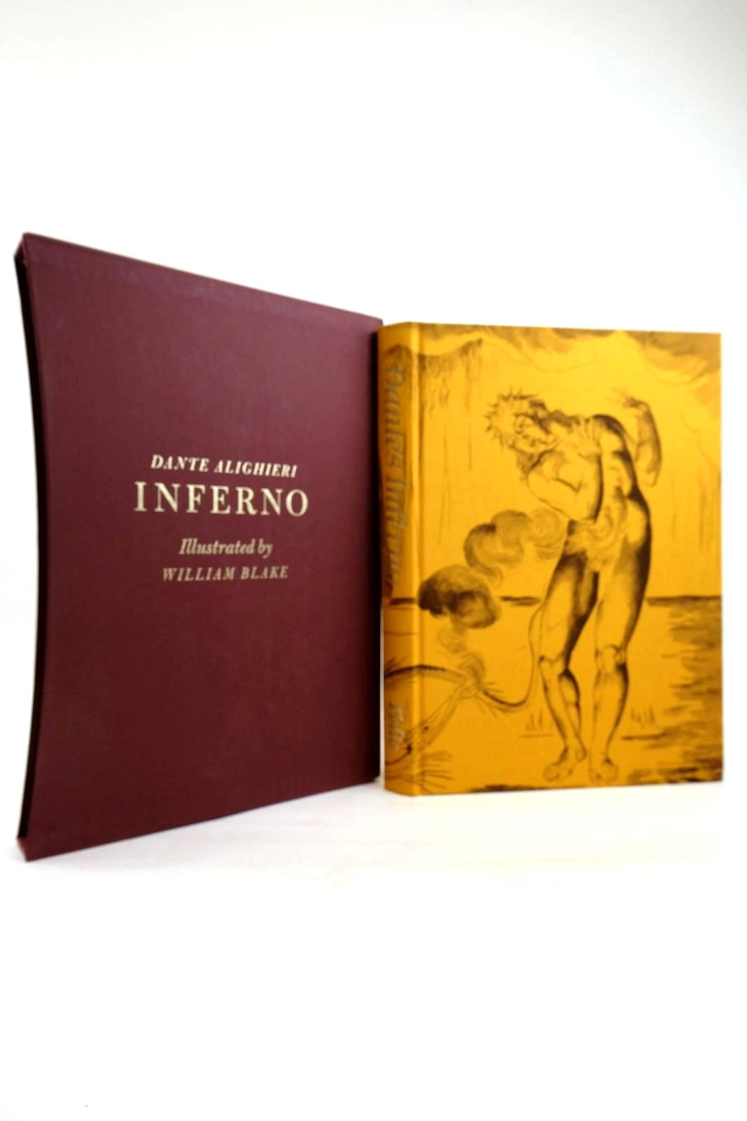 Photo of INFERNO written by Alighieri, Dante Cary, Henry Francis Hamlyn, Robin illustrated by Blake, William published by Folio Society (STOCK CODE: 2134456)  for sale by Stella & Rose's Books