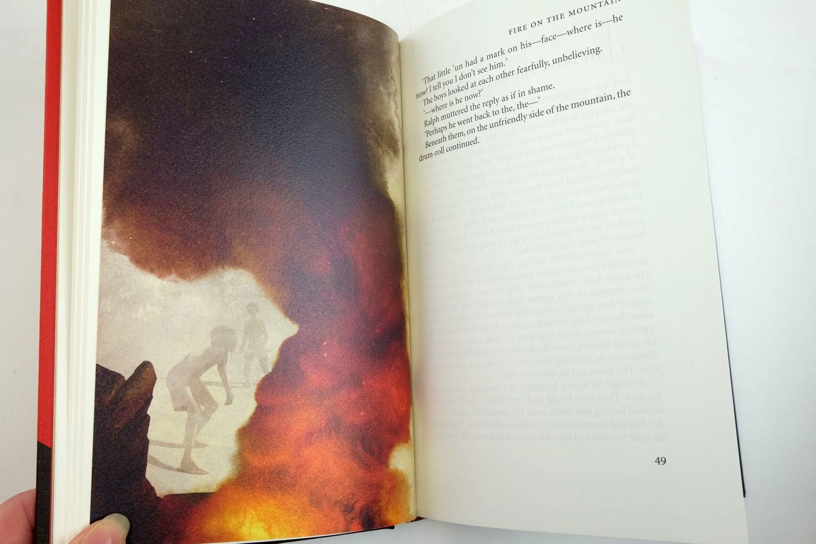 Photo of LORD OF THE FLIES written by Golding, William illustrated by Weber, Sam published by Folio Society (STOCK CODE: 2134458)  for sale by Stella & Rose's Books