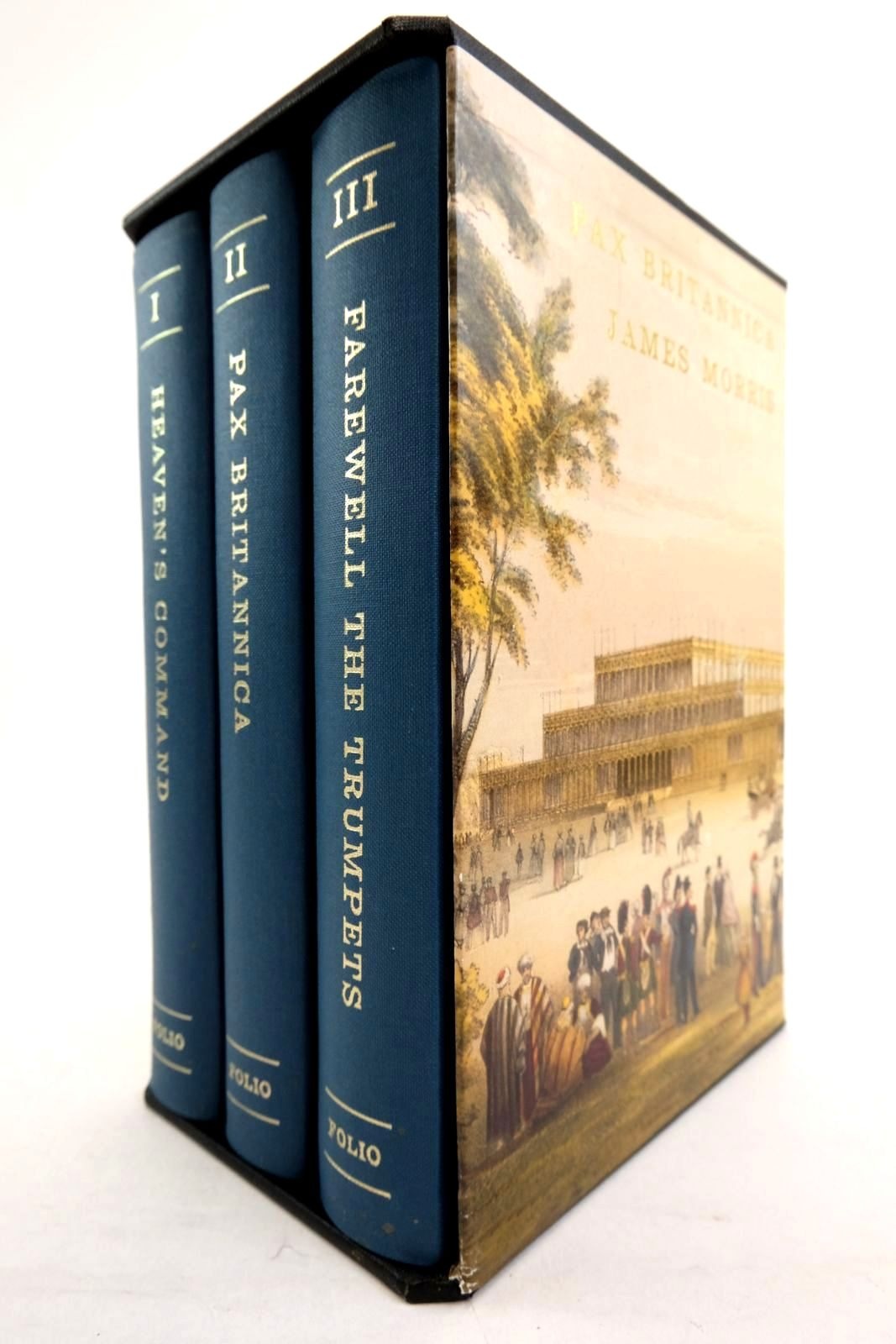 Photo of PAX BRITANNICA (3 VOLUMES) written by Morris, James published by Folio Society (STOCK CODE: 2134463)  for sale by Stella & Rose's Books