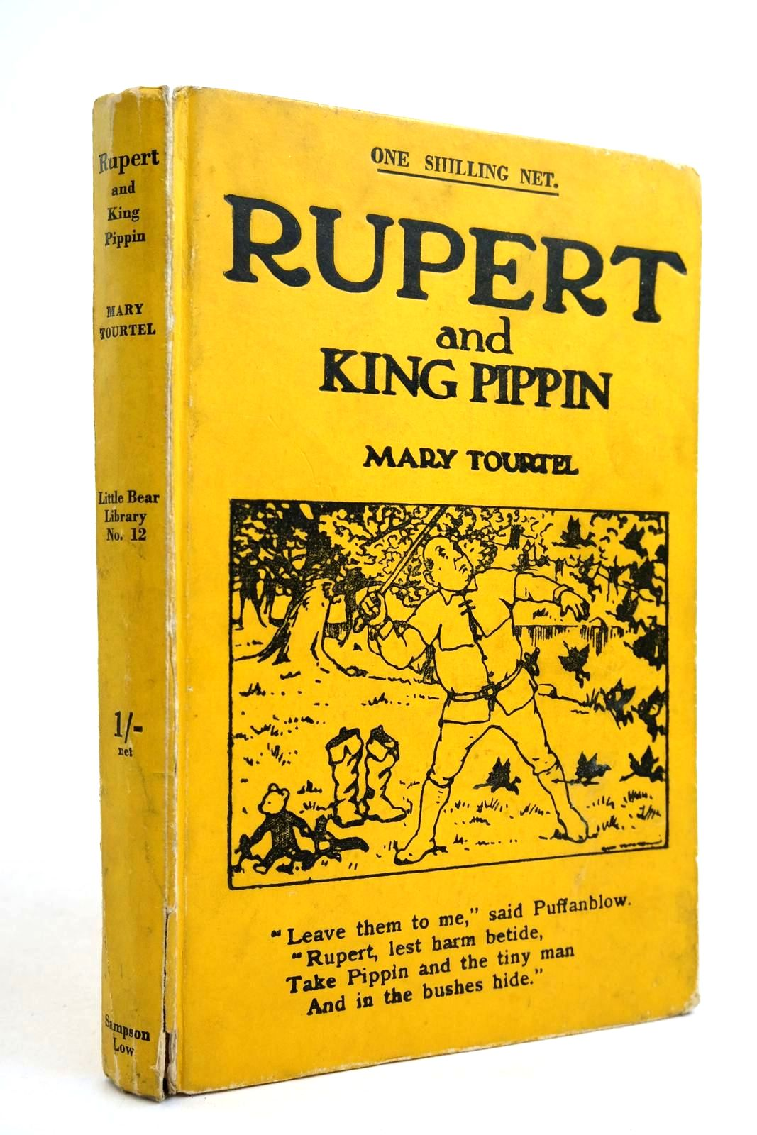 Photo of RUPERT AND KING PIPPIN - RUPERT LITTLE BEAR LIBRARY No. 12- Stock Number: 2134474