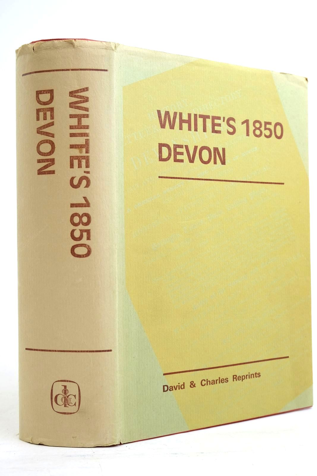 Photo of WHITE'S DEVON written by White, William Minchinton, W.E. published by David & Charles (STOCK CODE: 2134475)  for sale by Stella & Rose's Books