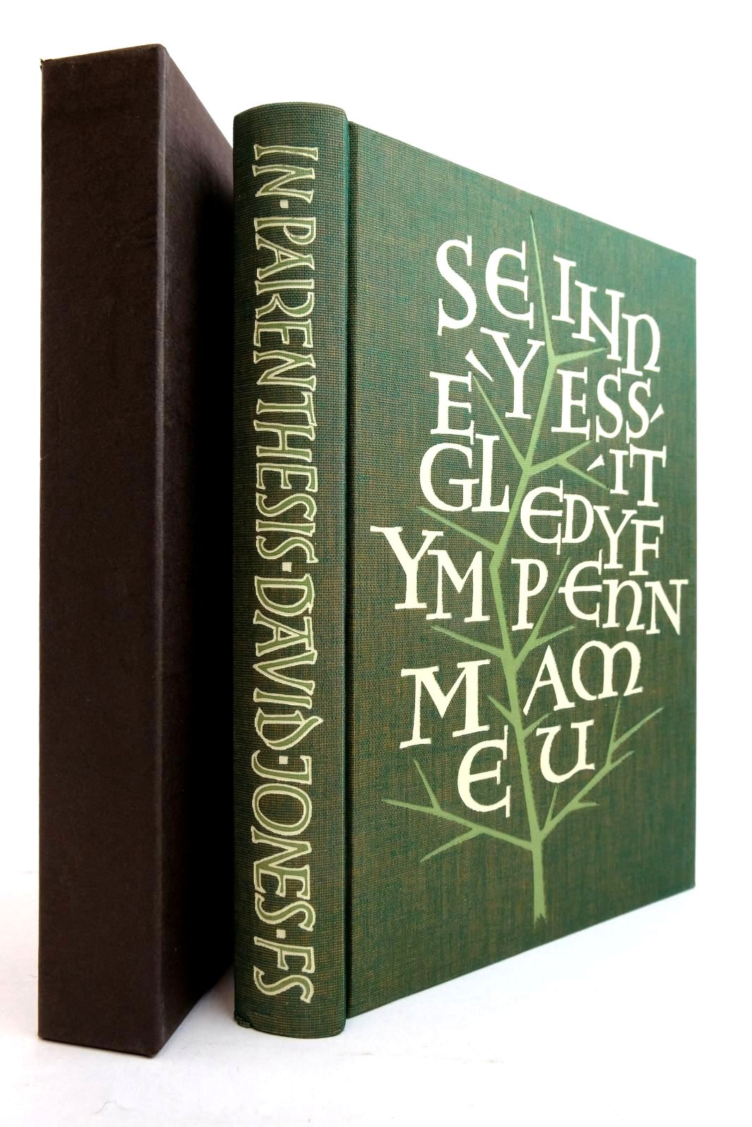Photo of IN PARENTHESIS written by Jones, David Eliot, T.S. Bloom, Harold illustrated by Clayton, Ewan published by Folio Society (STOCK CODE: 2134493)  for sale by Stella & Rose's Books