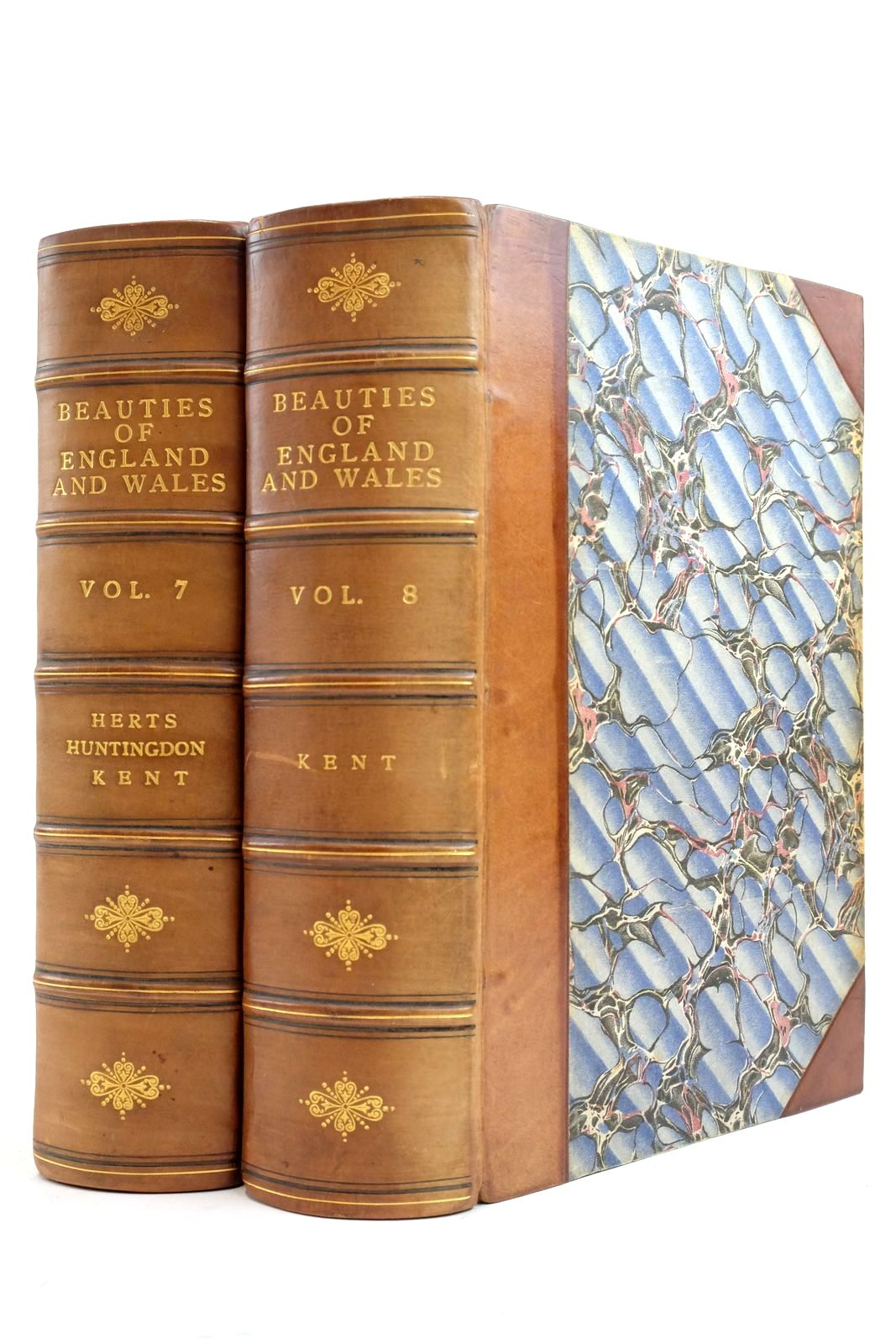 Photo of THE BEAUTIES OF ENGLAND AND WALES VOLS. VII AND VIII (2 VOLUMES)- Stock Number: 2134498