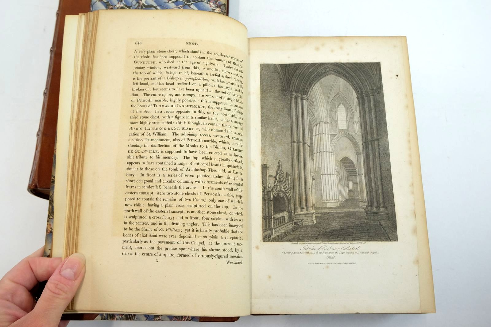 Photo of THE BEAUTIES OF ENGLAND AND WALES VOLS. VII AND VIII (2 VOLUMES) written by Brayley, Edward Wedlake published by Vernor, Hood & Sharpe, Longman, Hurst (STOCK CODE: 2134498)  for sale by Stella & Rose's Books