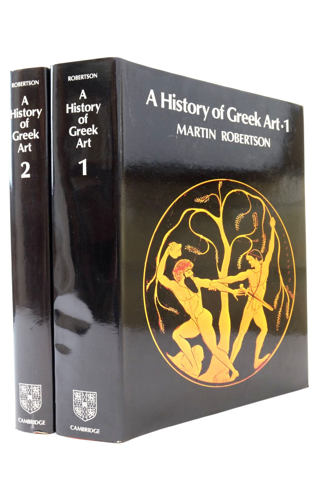 Photo of A HISTORY OF GREEK ART (2 VOLUMES)- Stock Number: 2134505