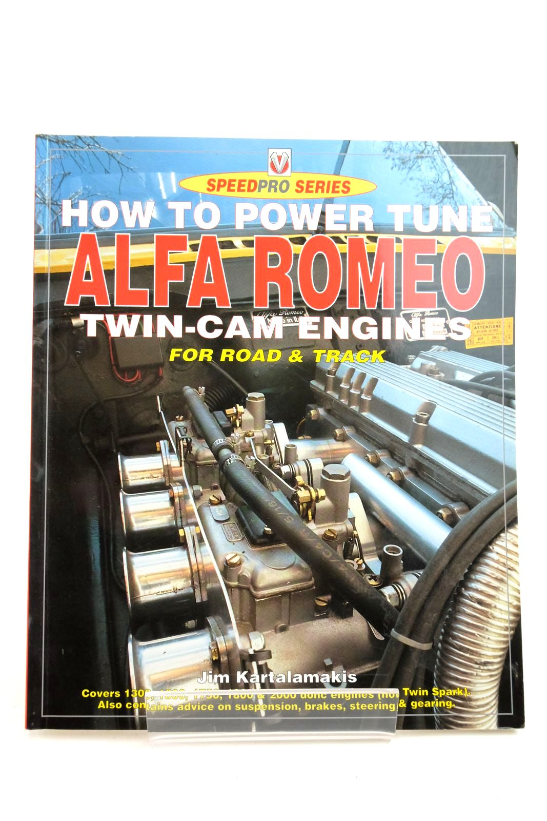 Photo of HOW TO POWER TUNE ALFA ROMEO TWIN-CAM ENGINES FOR ROAD & TRACK- Stock Number: 2134524
