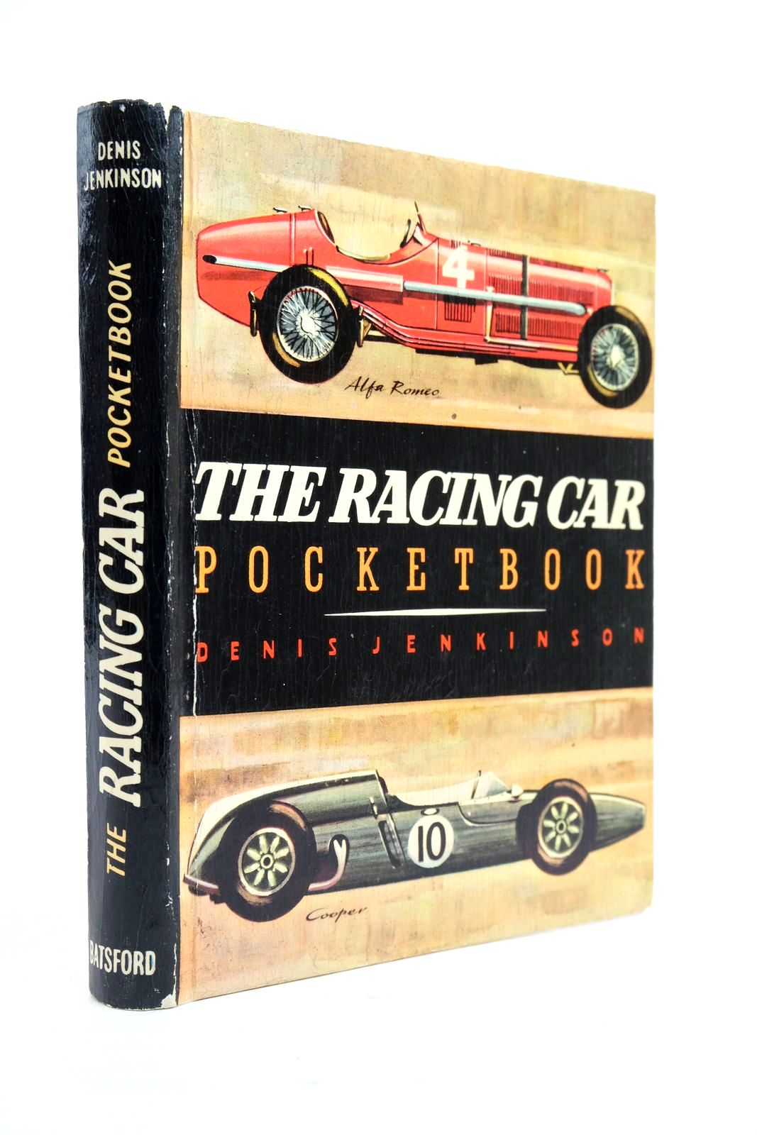 Photo of THE RACING CAR POCKETBOOK written by Jenkinson, Denis published by B.T. Batsford (STOCK CODE: 2134536)  for sale by Stella & Rose's Books
