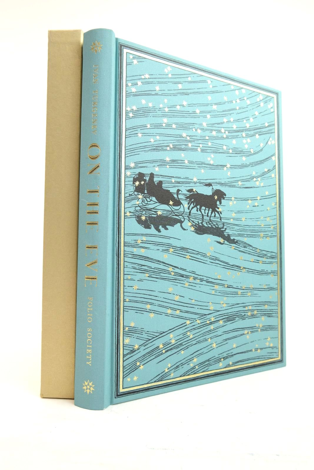Photo of ON THE EVE written by Turgenev, Ivan Gardiner, Gilbert Matar, Hisham illustrated by Nassef, Lauren published by Folio Society (STOCK CODE: 2134554)  for sale by Stella & Rose's Books
