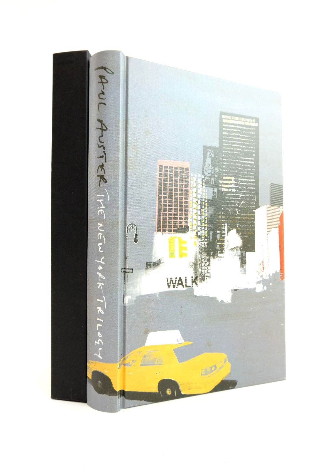 Photo of THE NEW YORK TRILOGY written by Auster, Paul illustrated by Burns, Tom published by Folio Society (STOCK CODE: 2134556)  for sale by Stella & Rose's Books
