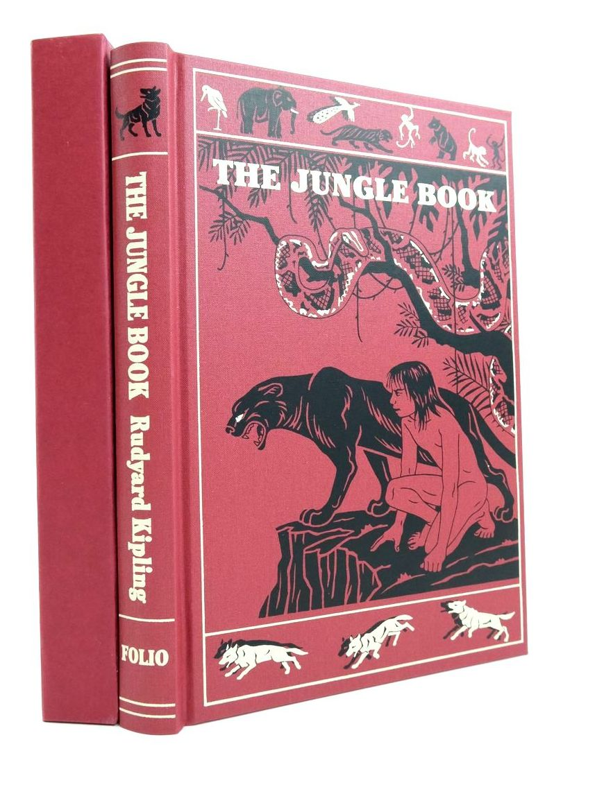 Photo of THE JUNGLE BOOK written by Kipling, Rudyard illustrated by Detmold, Maurice Detmold, Edward J. published by Folio Society (STOCK CODE: 2134560)  for sale by Stella & Rose's Books