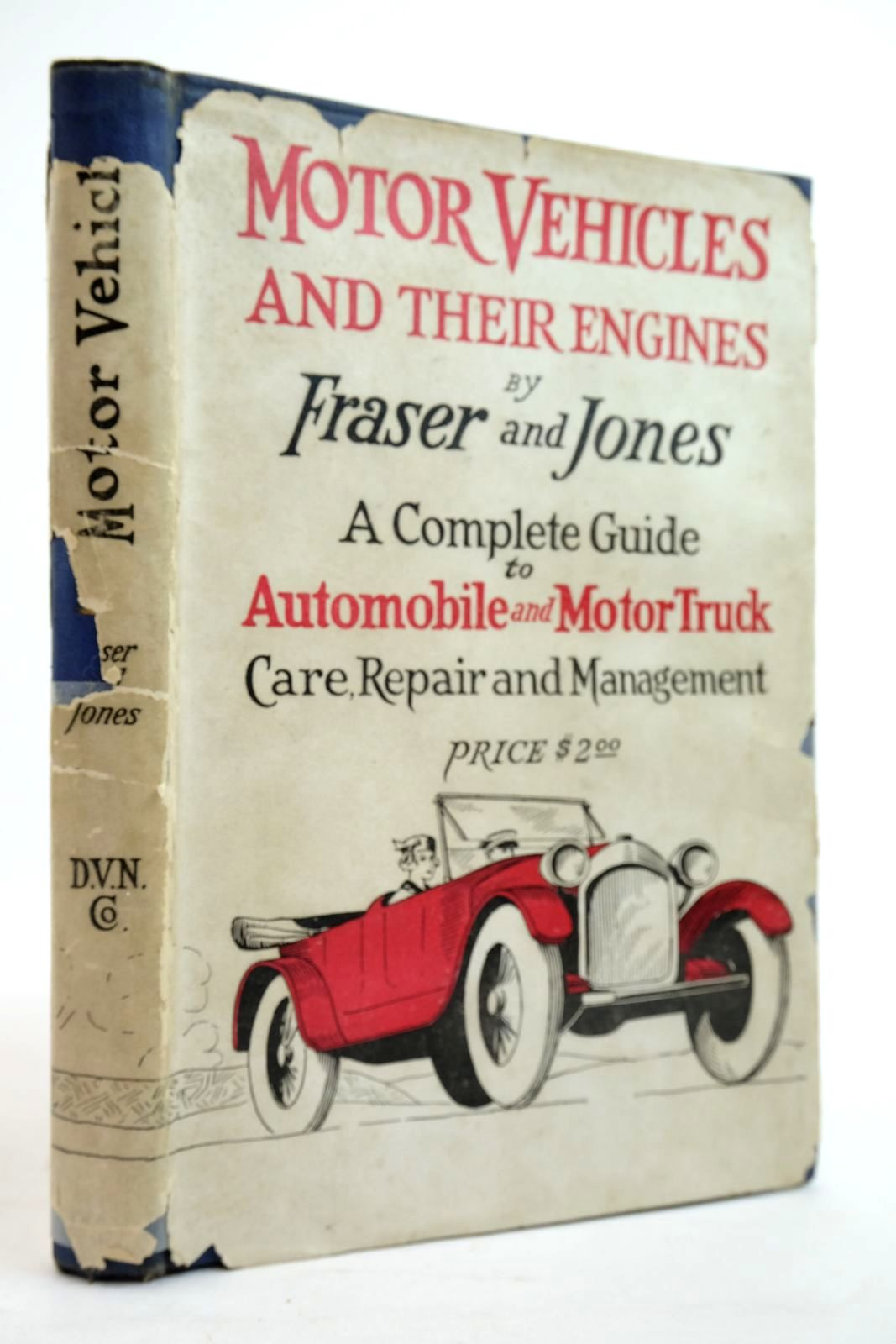 Photo of MOTOR VEHICLES AND THEIR ENGINES written by Fraser, Edward S. Jones, Ralph B. published by D. Van Nostrand Company (STOCK CODE: 2134573)  for sale by Stella & Rose's Books