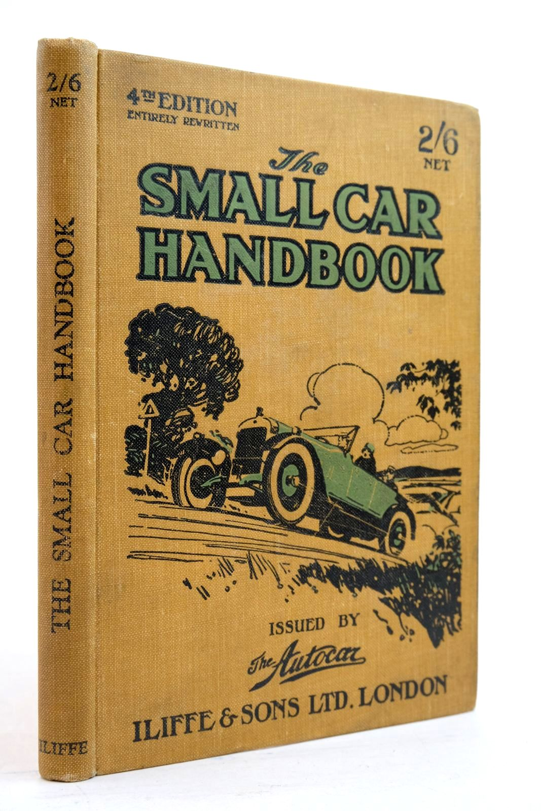 Photo of THE SMALL CAR HANDBOOK published by Iliffe & Sons Limited (STOCK CODE: 2134607)  for sale by Stella & Rose's Books
