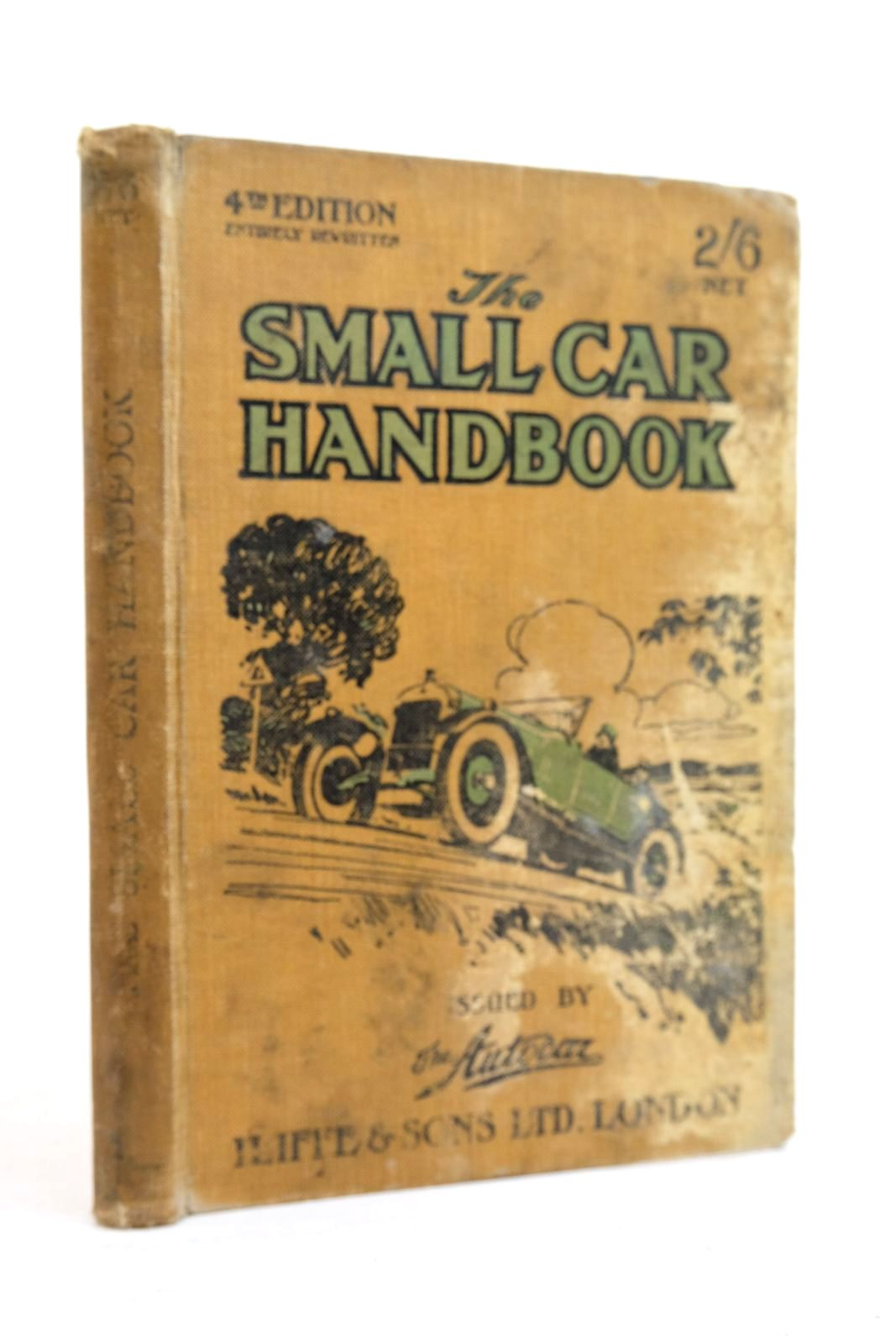Photo of THE SMALL CAR HANDBOOK published by Iliffe & Sons Limited (STOCK CODE: 2134612)  for sale by Stella & Rose's Books