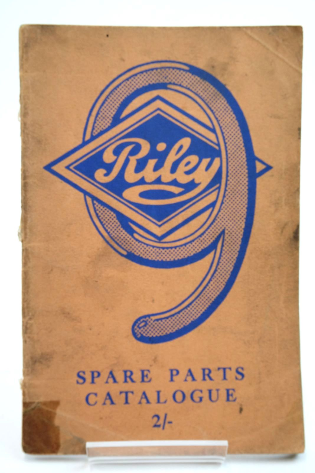 """Photo of SPARE PARTS CATALOGUE FOR RILEY """"9"""" MODELS- Stock Number: 2134620"""