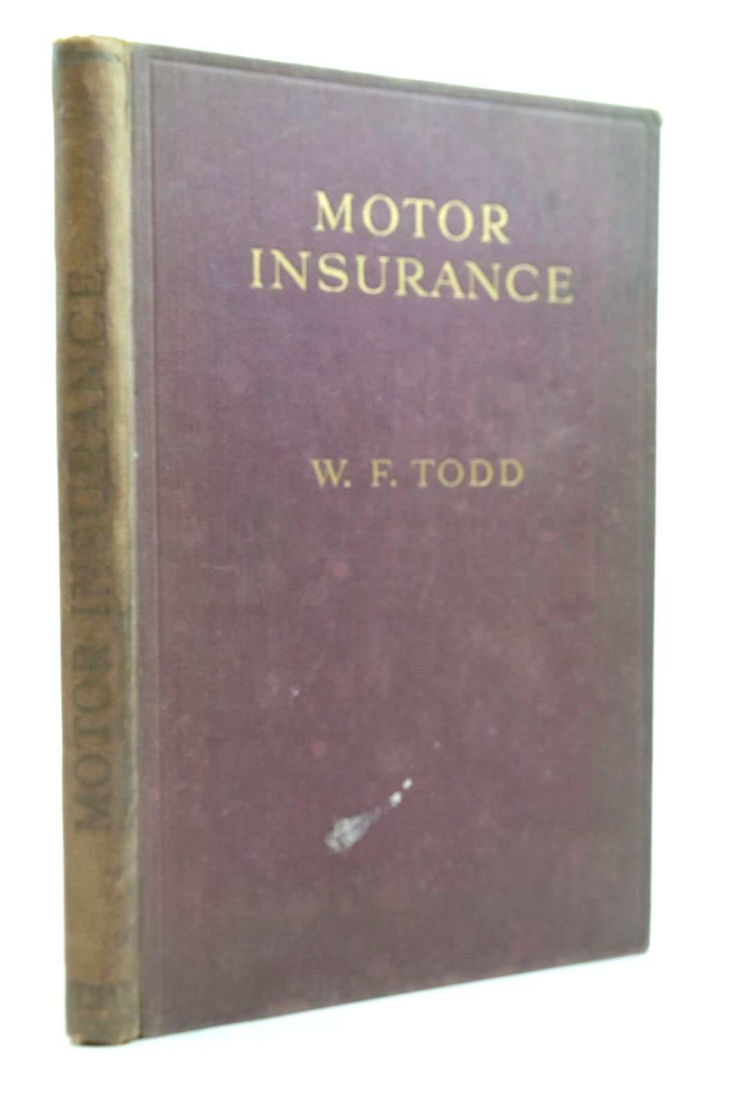 Photo of MOTOR INSURANCE- Stock Number: 2134621